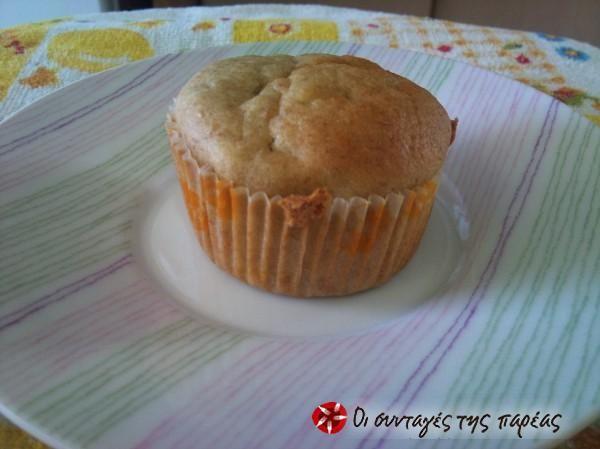 Banana muffins νηστίσιμα #sintagespareas