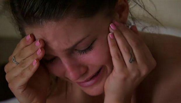 The Bachelor, Season 17 - Tiara crying as Sean Lowe sends her home