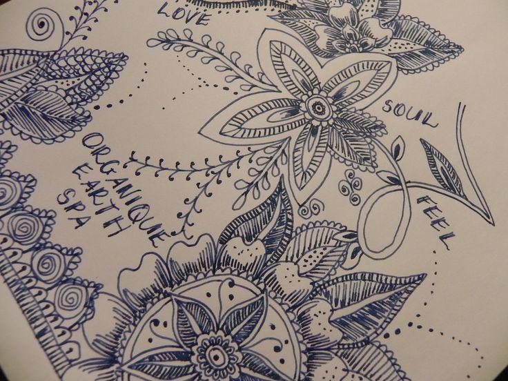 www.organiqueearthspa.com.au Organique Earth Spa - Mornington Day Spa experience.  Organique artwork - practicing some henna designs...