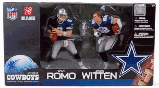 Witten and Tony Romo (Dallas Cowboys) NFL 2-Pack McFarlane