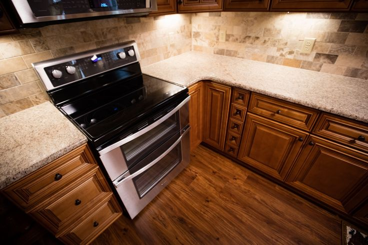 Charleston toffee kitchen cabinets remodeling by lily ann for Kitchen remodeling charleston sc