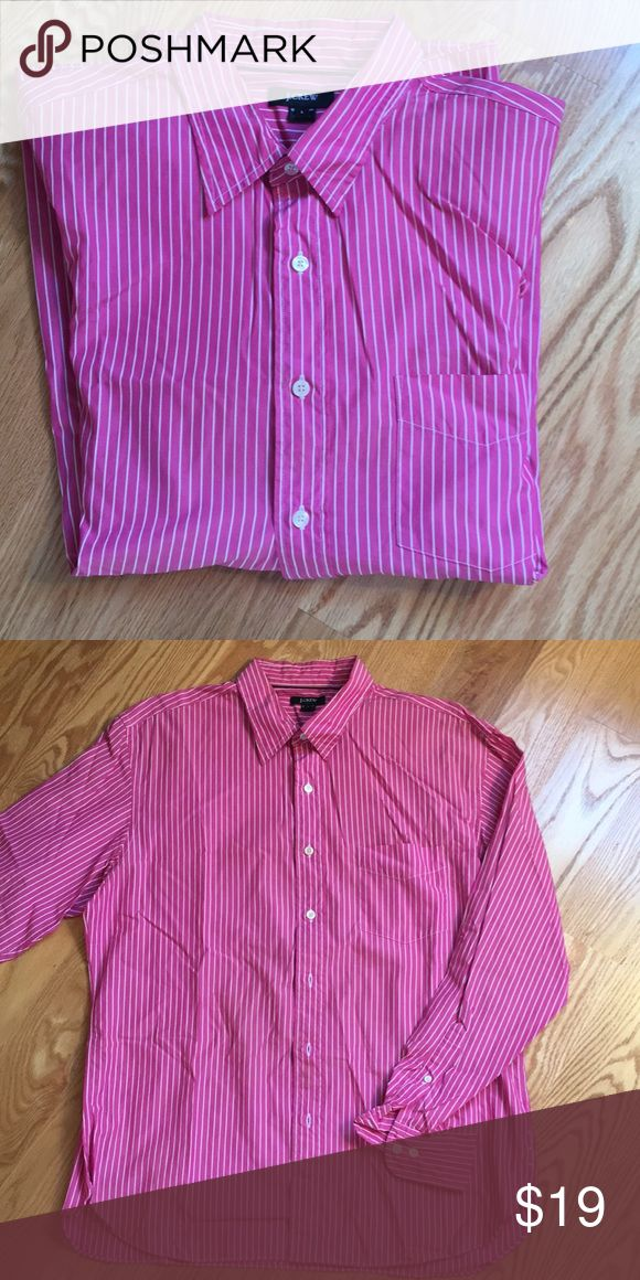Fashion Dress Shirt Casual Cotton Button Down Shirts Pj  L
