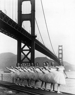 San Francisco Ballet Company c.1960 Fine Art Print