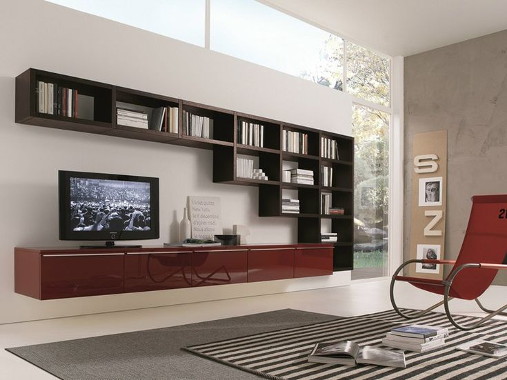 Wall Shelves For Living Room. MisuraEmme Futuristic Furnitures for Modern Living Room Designs Artistic  Separator TV Cabinet Contemporary Space by Home 16 best Wall Shelves Design Ideas images on Pinterest