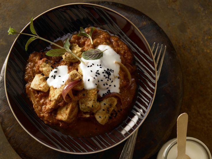 Pikantes Hähnchen-Curry - mit Ingwer und Tomaten - smarter - Kalorien: 385 Kcal - Zeit: 30 Min. | eatsmarter.de Wer Curry mag, wird dieses Curry mit Hähnchen lieben.