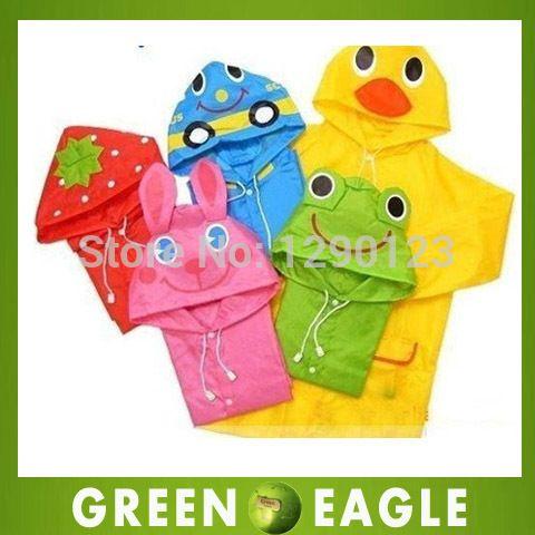 Cool 1PC Kids Rain Coat Children Raincoat Rainwear/Rainsuit,Kids Waterproof Animal Raincoat Student Poncho - $ - Buy it Now!