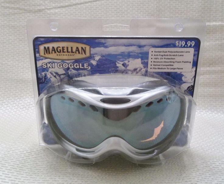 Magellan Ski Googles Medium to Large Adult Faces New in  Package #Magellan