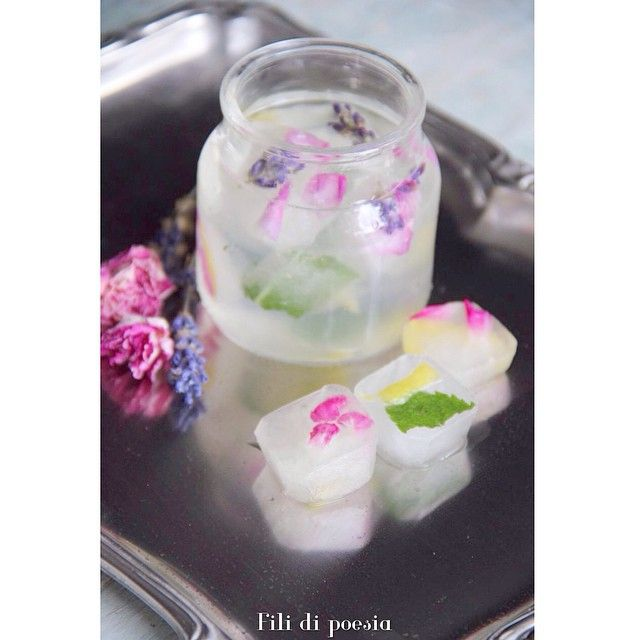 Ice cubes ideas for a party
