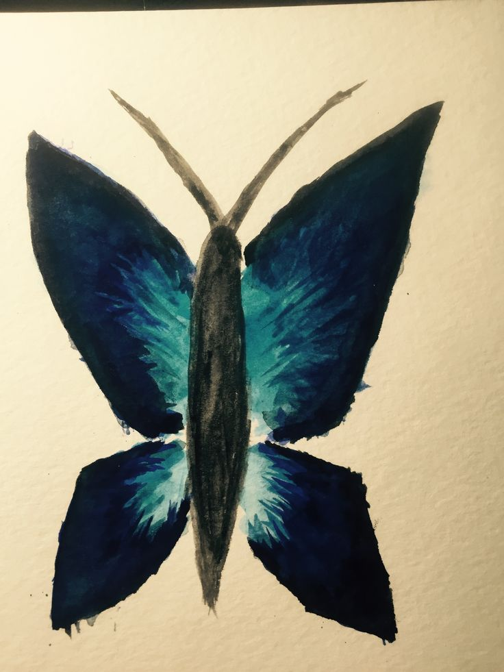 Third painting attempt. Also a failure. While I love the colors I used for the wings, they at far too narrow and angular and the body is way too wide/round because I misjudged the width needed to be left between the wings for it. 10/27/2016