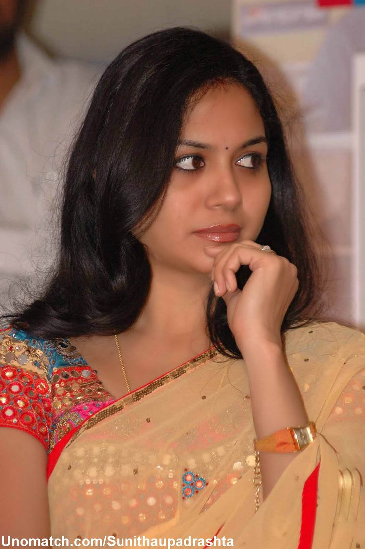 Sunitha Upadrashta is a playback singer, anchor and dubbing artist in the Telugu Film industry, also known as Tollywood. like : http://www.Unomatch.com/Sunithaupadrashta/
