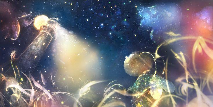 glowworm by smokepaint.deviantart.com on @deviantART..............d