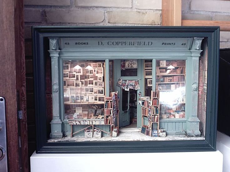 1:12 Inch D. Copperfield Bookseller, from Angie Scarr