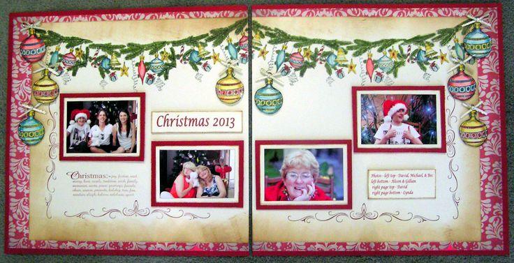 my Christmas 2013 Kaszazz project designed by Natalie Pecovnik .