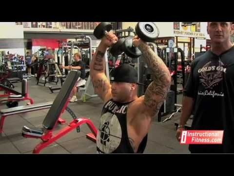 Instructional Fitness - Arnold Press - YouTube