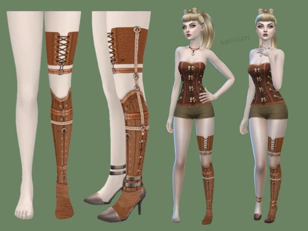 Wooden Leg Prosthesis by Lavoieri at TSR • Sims 4 Updates