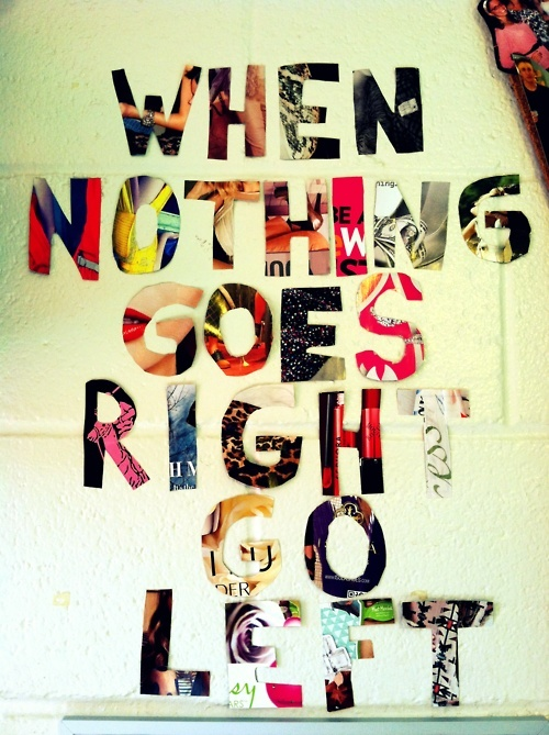 Room With Nothing In It: When Nothing Goes Right, GO LEFT!