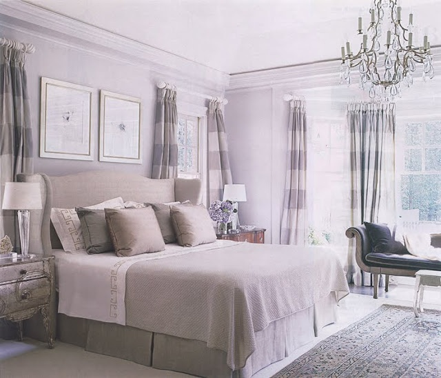 Barbara Westbrook.... this room is awesome. i would have to add some rich colors too it to make it my own, i love the head board and end tables rock!!!