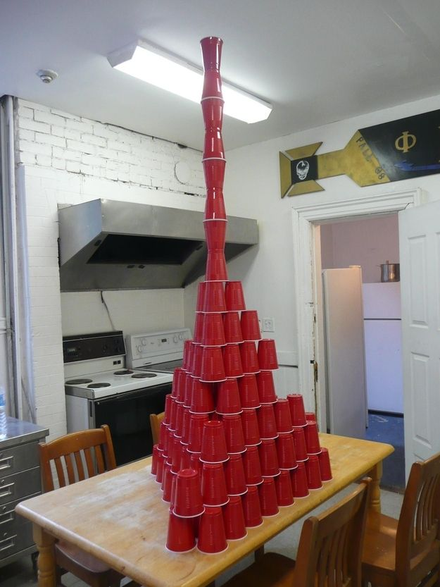 Ditch the Solo Cups. | 21 Bachelor Pad Tricks That Will Up Your Game