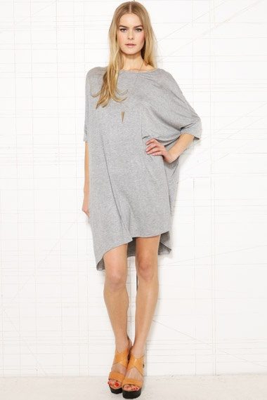 Sparkle & Fade Oversized Square Tee Dress at Urban Outfitters