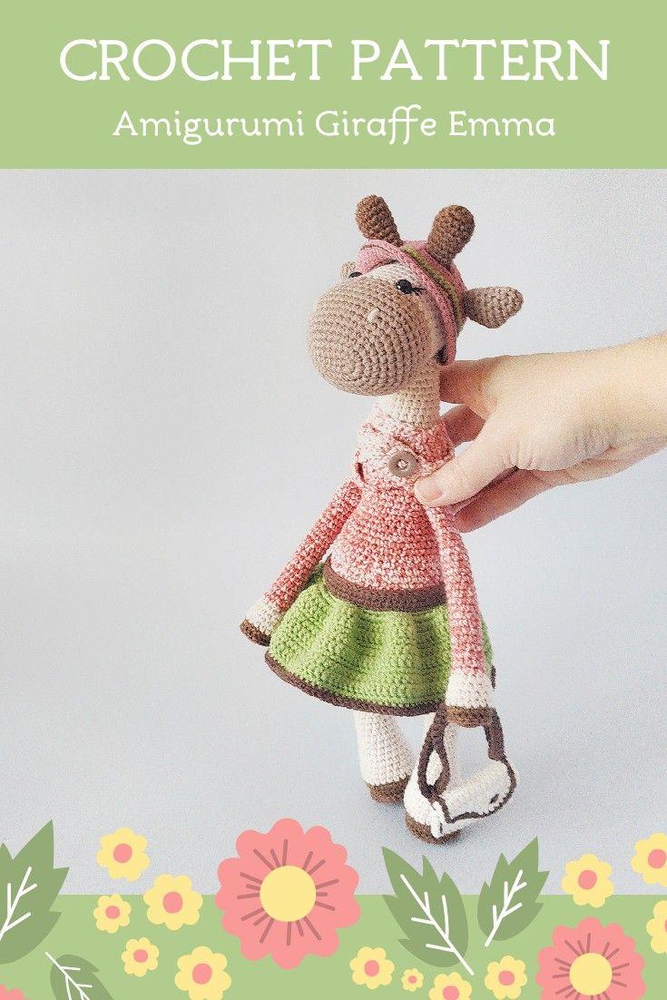 Baby Bear-Instant Download Crochet Pattern-Toy Teddy | Etsy | 1102x735