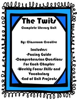 A complete unit ready for use in your room! Great for test prep and common core aligned. Includes comprehension worksheets, weekly vocab and focus skill activities, and 4 fun end of unit projects and craftivities.