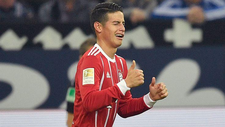 Erste Gala der Transfer-Granate - Bayern feiert KING JAMES - Bundesliga Saison 2016/17 - Bild.de