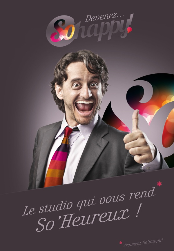 So'Happy personal projects by So Happy , via Behance