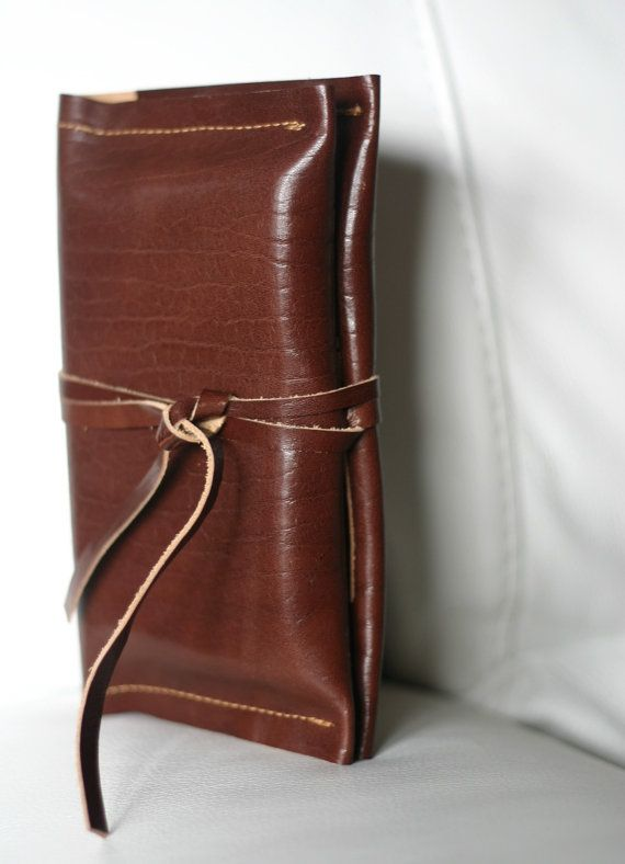 Journal cover leather  gift for him  by Creazionidiangelina