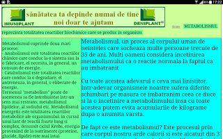 PSORIAZIS-CORESPONDENTA  DENIPLANT: Imuniplant pentru metabolismul tau