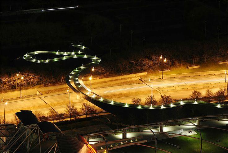 Bridge in Millennium Park7 – Fubiz™