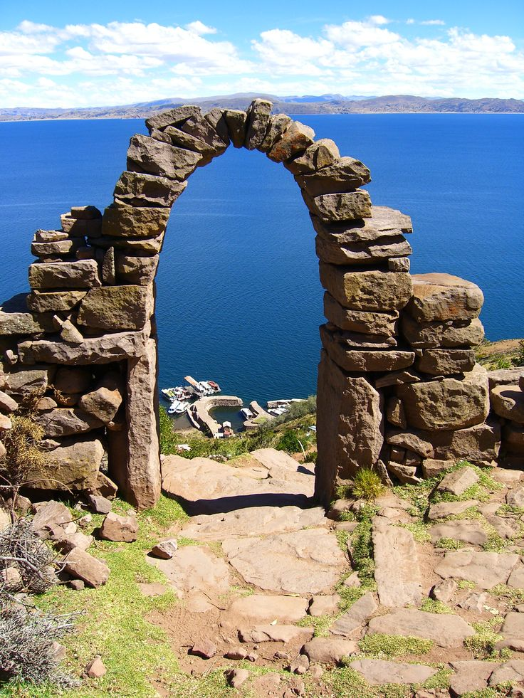 Taquile Island, Lake Titicaca, Peru/Bolivia (BEST FISH IN THE WORLD!! yum)