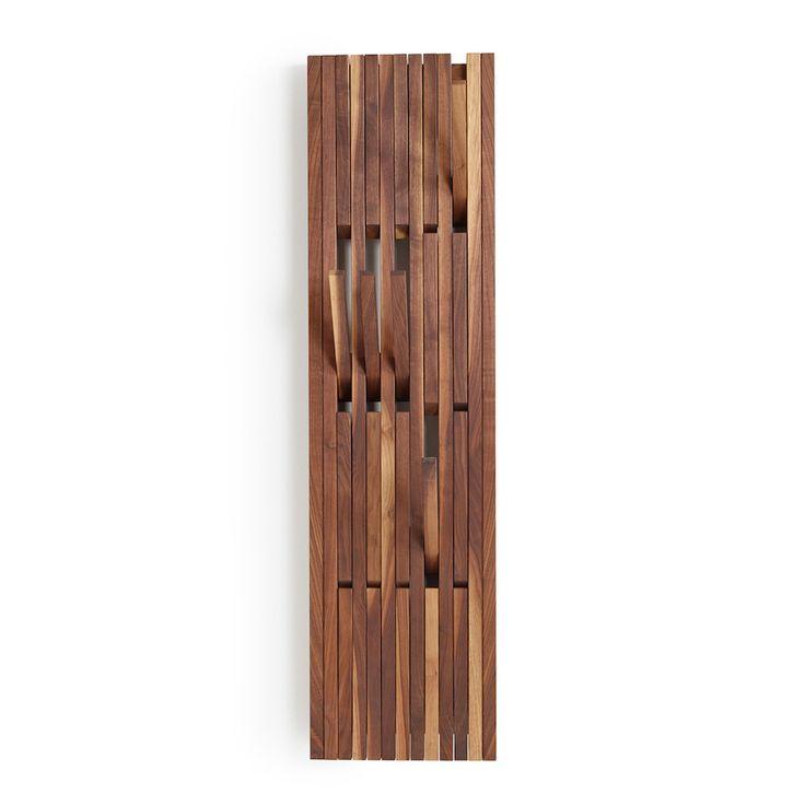 Wooden Designer Garderoben Wandhacken #wood #designer #wardrobe