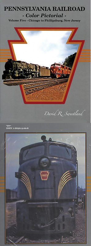 Books 9049: Pennsylvania Railroad Color Pictorial: Chicago To Phillipsburg, Nj (1940S-1960S) -> BUY IT NOW ONLY: $53.95 on eBay!