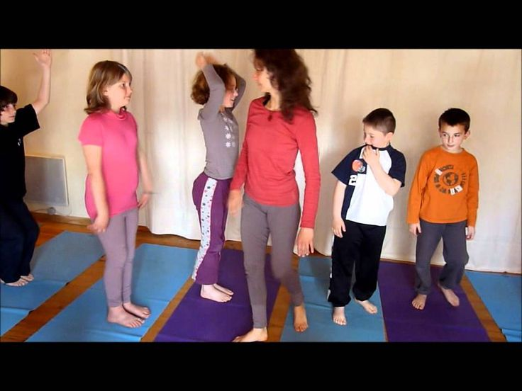 video yoga enfants