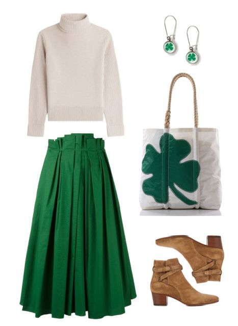 Feeling Irish pride, or just need a bit of luck? Be lucky all year long with the Four Leaf Clover Tote from Sea Bags - made to last, from recycled sails in Portland, Maine, USA.