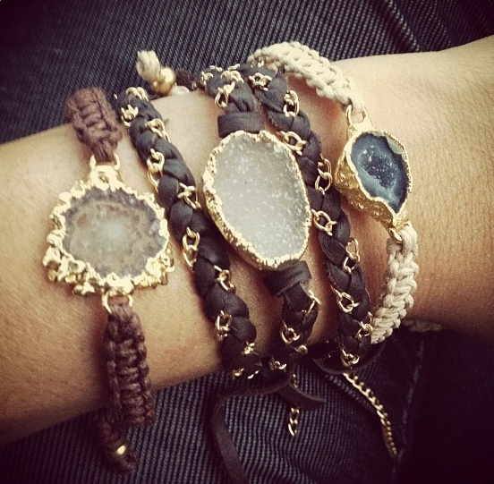 Nina Nguyen stack bracelets carried at Rick terry Jewelry Designs Knoxville, TN