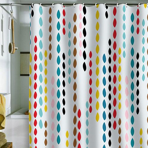 Khristian A Howells Nolita's Drops shower curtain