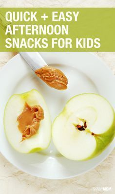 8 healthy snacks that kids can make!