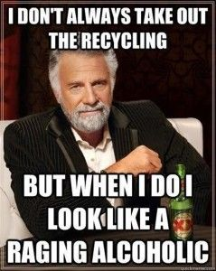Dump A Day take out the recycling - Dump A Day