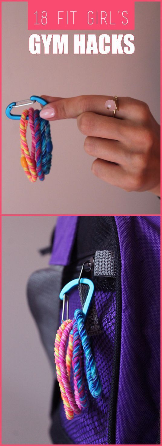 18 Genius Fit Girl's Gym Hacks You Have To Know - Gym Bag Essentials And Tricks To Make Your Gym Time Easier - Fit Girl's Diary (Fitness Tips Gym)