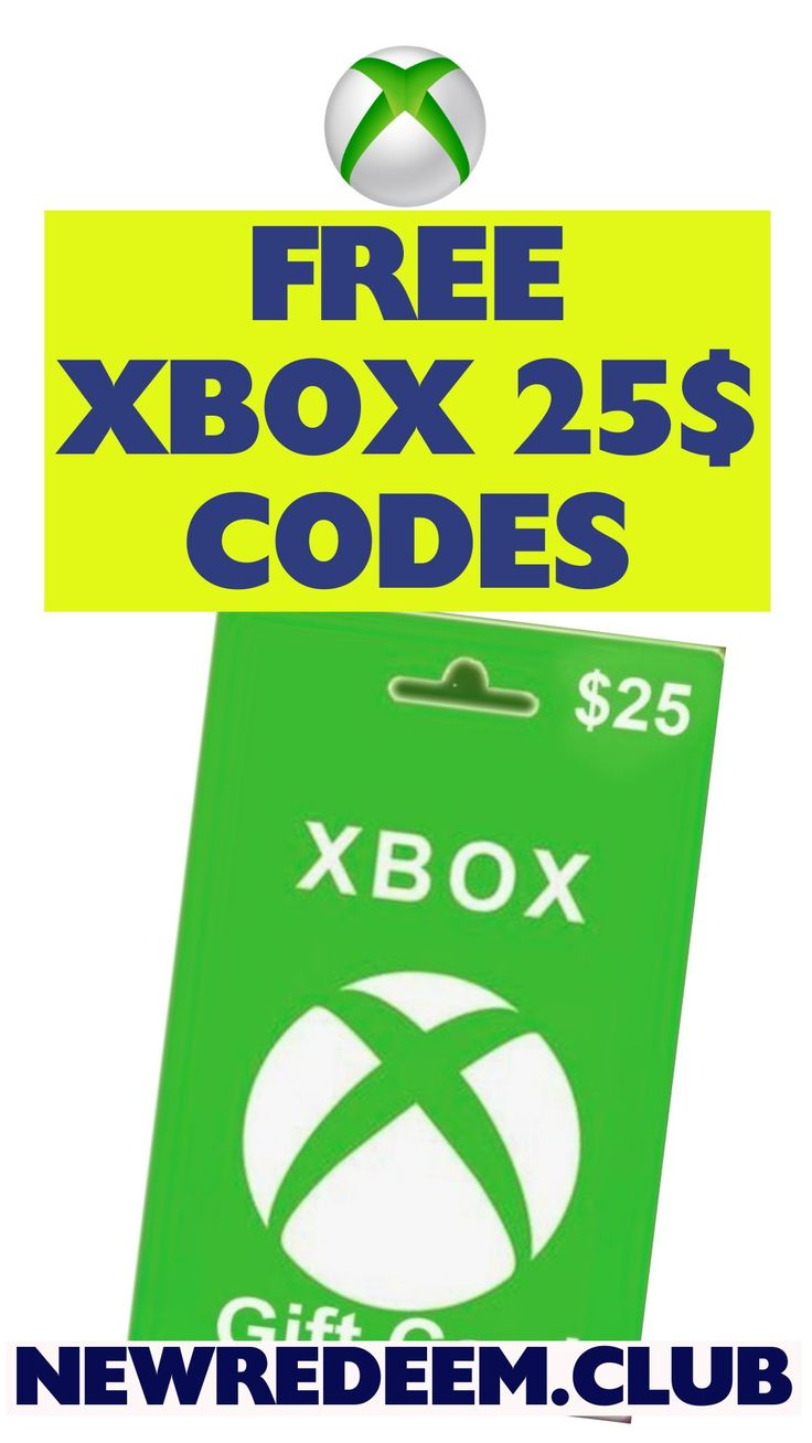 Get a 25 xbox gift card free in 2020 xbox gift card