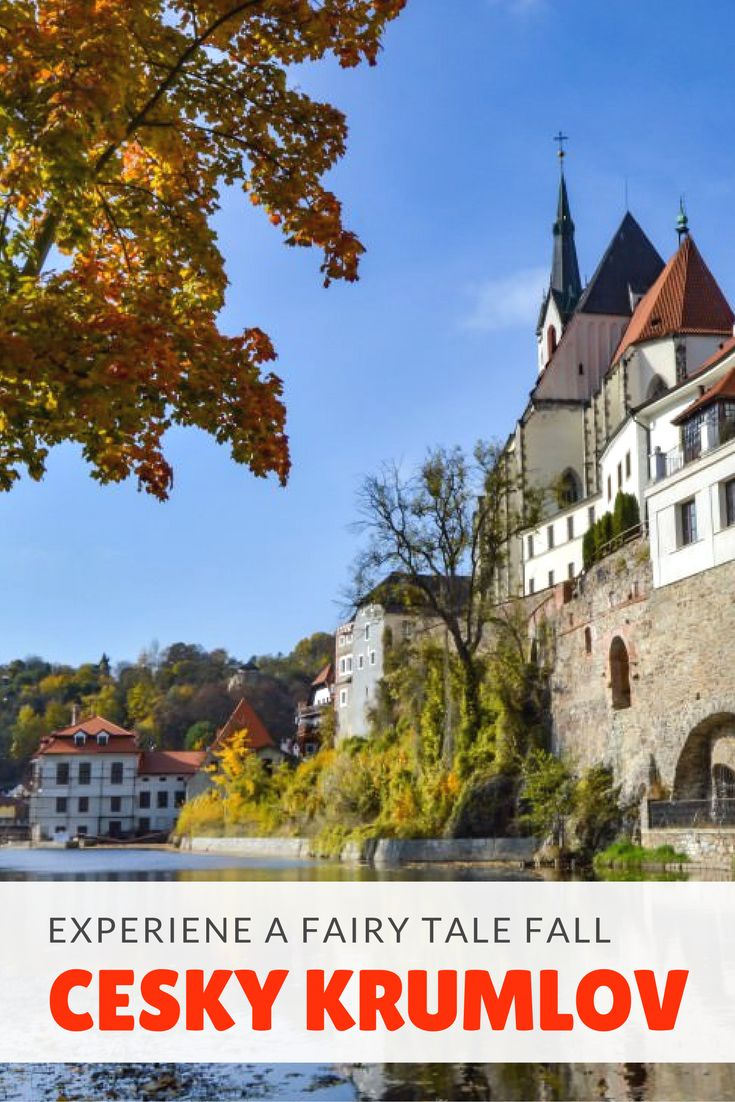 Historic, pristine, and wonderfully picturesque, Cesky Krumlov is a must visit destination in the Czech Republic. Visiting during the Fall and you'll see this beautiful town cloaked in hues of orange and yellow. Not convinced, click here to see for yourself!