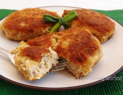 Kotleciki ziemniaczane z tuńczykiem
