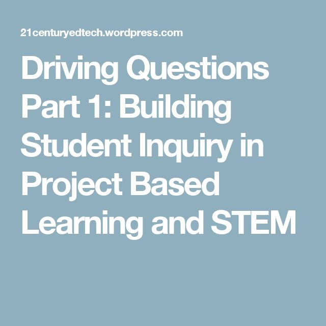 Building America S Future Stem Education Intervention Is: Best 10+ Driving Questions Ideas On Pinterest