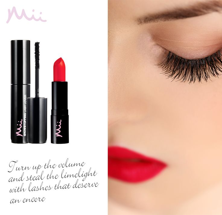The perfect duo just for Mii. Use your Passionate Lip Lover in One True Red 01 and Showstopping Lash Lover in Diva 01 to create this classic, bold look. Let a moment of flirtation become a beautiful obsession.