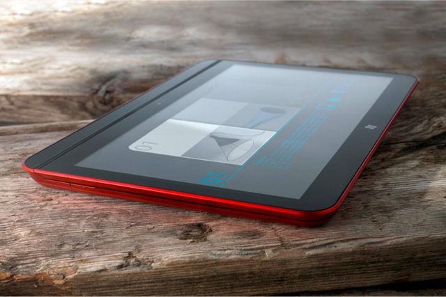 Intel Win8 ultrabook.  Cool.