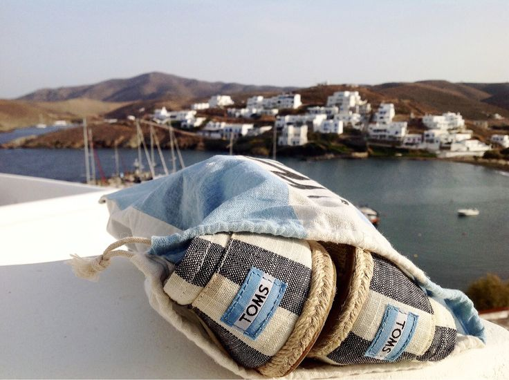 A pair of Toms at Porto Klaras'balcony / Kythnos island / Greece