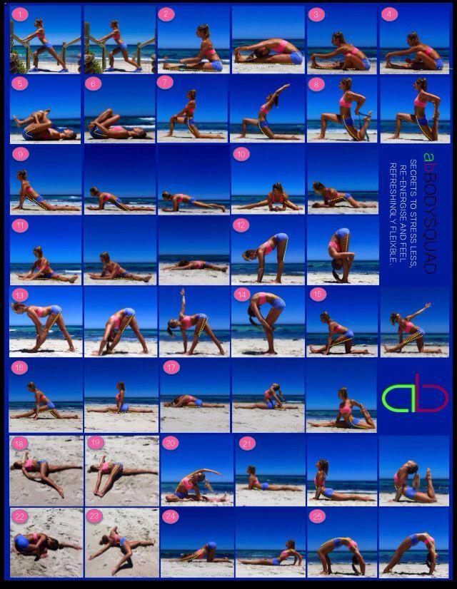 Stretching guide - Amanda bisk