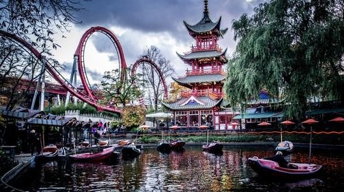 Copenhagen, Tivoli and eat as much cake as you'd like
