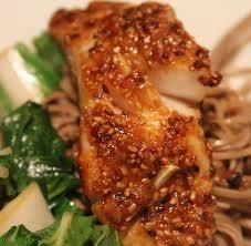Ginger Miso Glazed Tilapia http://www.food.com/recipe/ginger-miso-glazed-tilapia-411341